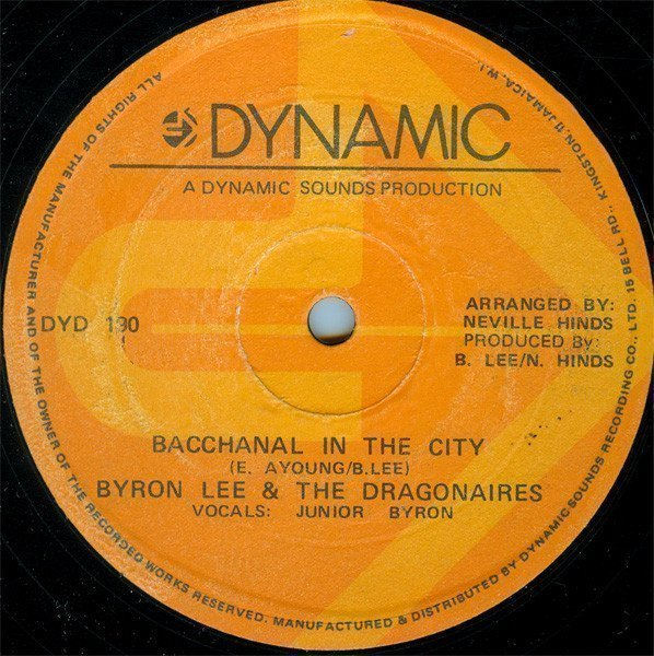Byron  The Dragonaires - Bacchanal In The City