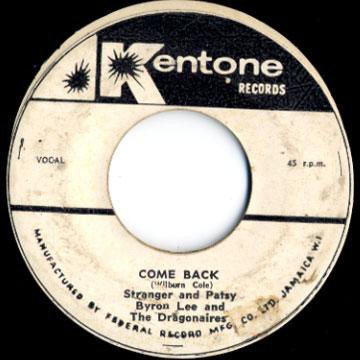 Byron  The Dragonaires - Come Back
