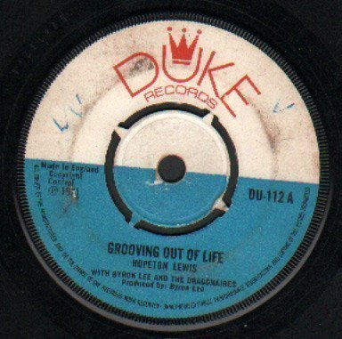 Byron  The Dragonaires - Grooving Out Of Life / Fire Fire