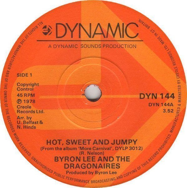 Byron  The Dragonaires - Hot, Sweet And Jumpy