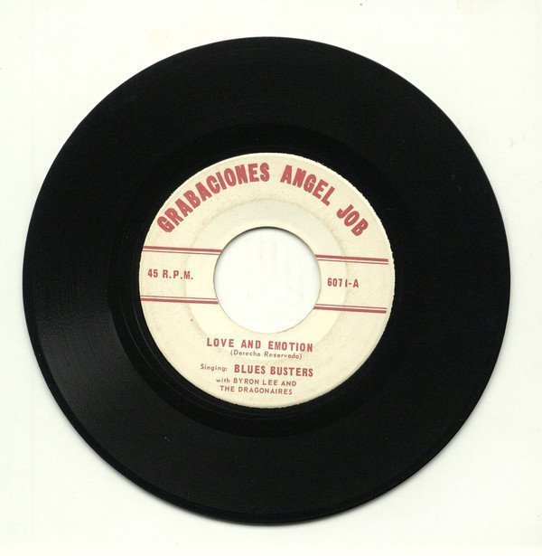 Byron  The Dragonaires - Love and Emotion / Warning You Baby