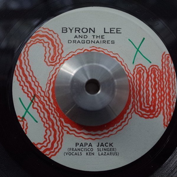 Byron  The Dragonaires - Papa Jack / What Now My Love (Instrumental)