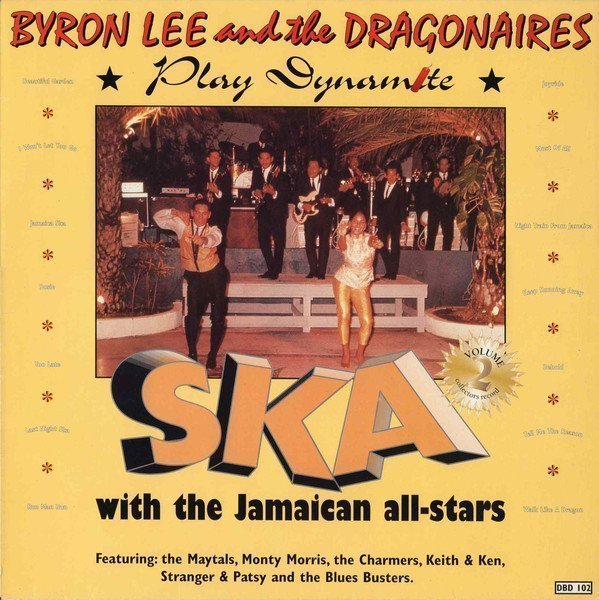 Byron  The Dragonaires - Play Dynamite Ska With The Jamaican All-Stars  Vol.2