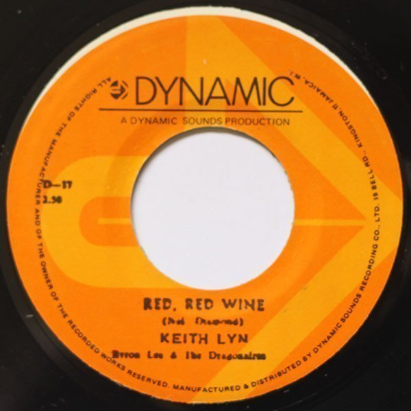 Byron  The Dragonaires - Red, Red Wine