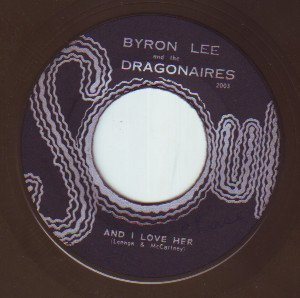 Byron  The Dragonaires - Sunjet Jump Up / And I Love Her
