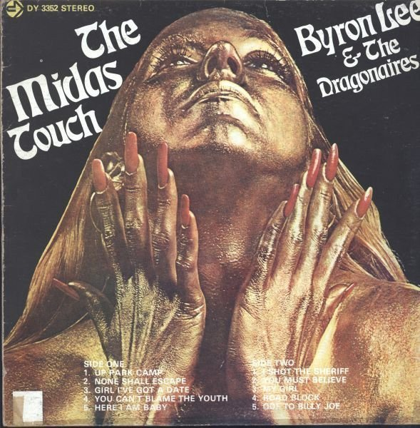 Byron  The Dragonaires - The Midas Touch