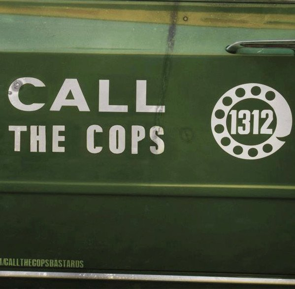 Call The Cops - Gun And Knife