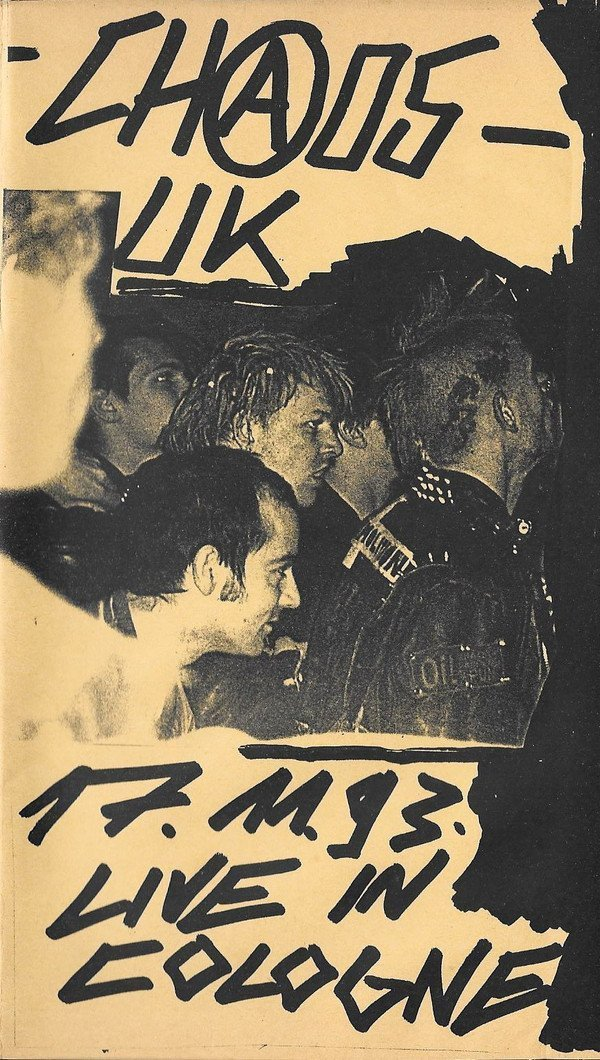 Chaos Uk - Live In Cologne 17.11.93
