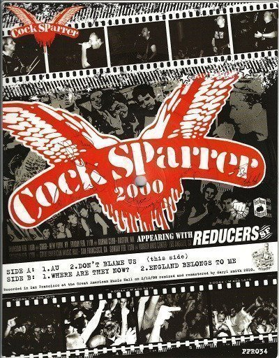 Cock Sparrer - SF 2000 Tour Itinerary
