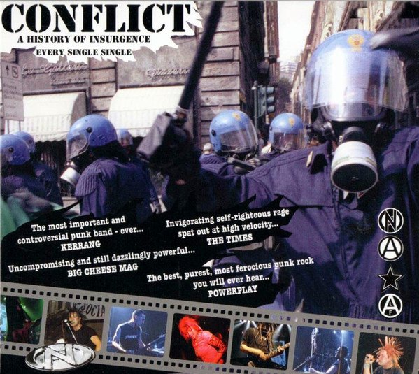 Conflict - A History Of Insurgence: Every Single Single