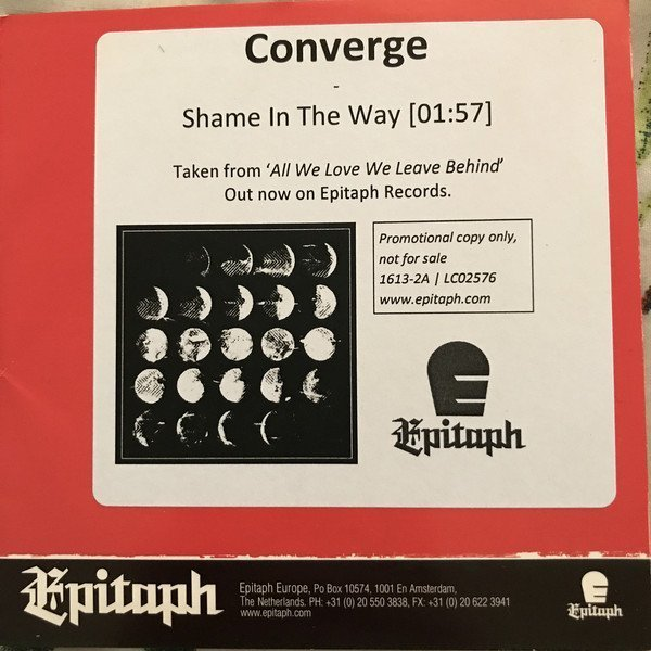 Converge - Shame In The Way