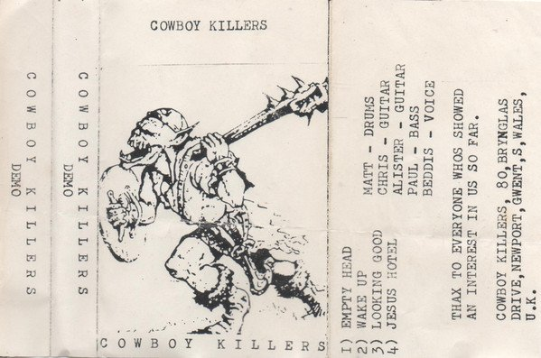 Cowboy Killers - First Demo
