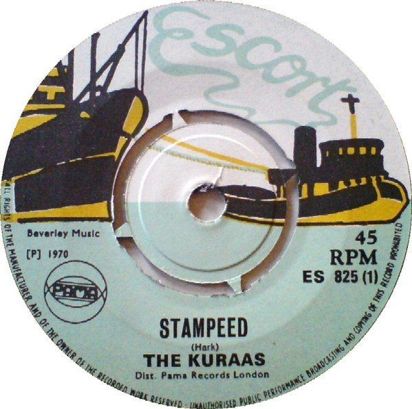 Coxsone Dodd  King Stitt - Stampeed / You Were Meant For Me