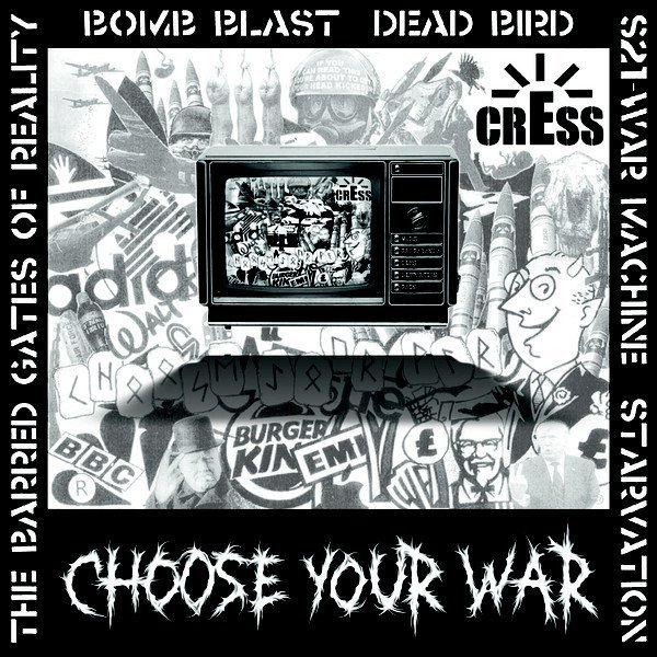 Cress - Choose Your War / Government Monster