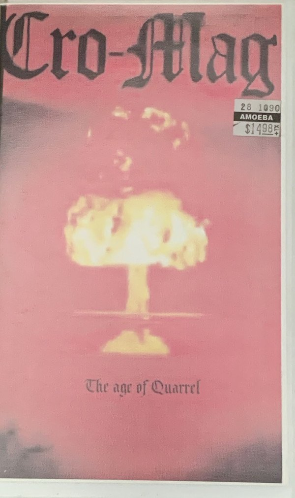 Cro mags - The Age Of Quarrel L