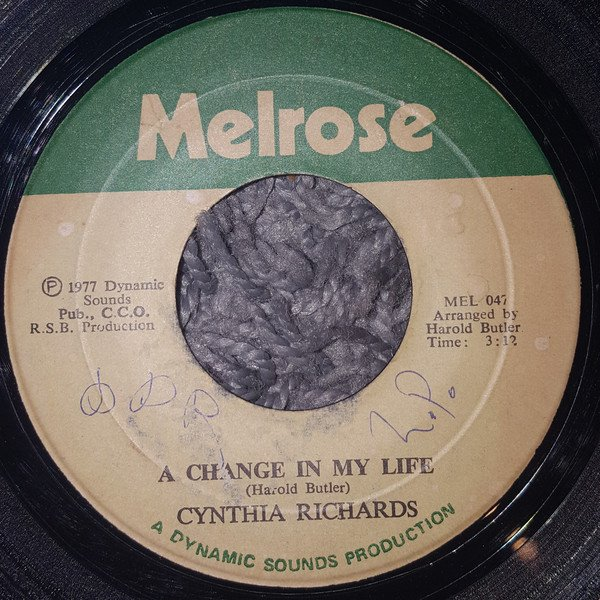 Cynthia Richards - A Change In My Life