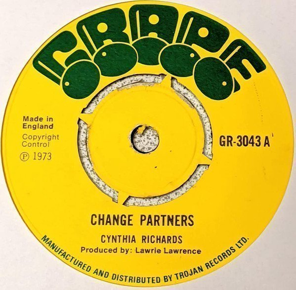Cynthia Richards - Change Partners / Pleading For Your Love