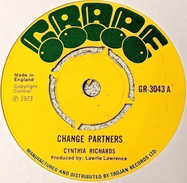 Cynthia Richards - Change Partners / Pledging For Your Love