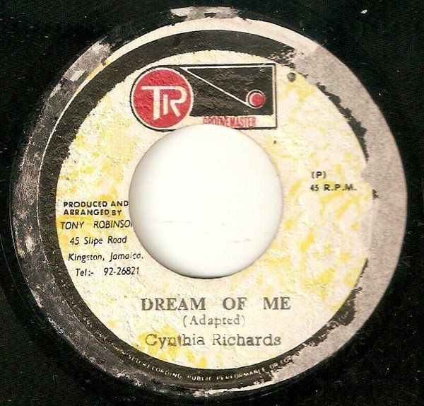 Cynthia Richards - Dream Of Me / Dream Under Heavy Manners