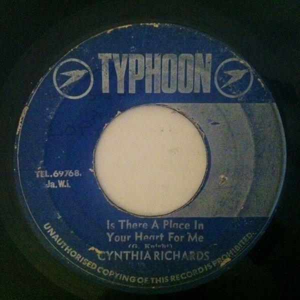Cynthia Richards - Is There A Place In Your Heart For Me