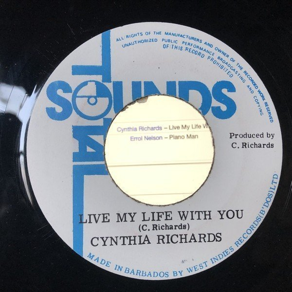 Cynthia Richards - Live My Life Without You