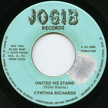 Cynthia Richards - Oh My Lover / Please Stay