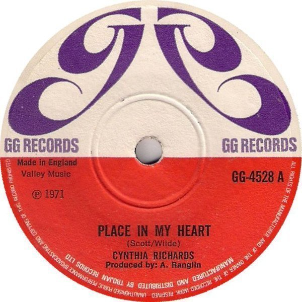 Cynthia Richards - Place In My Heart
