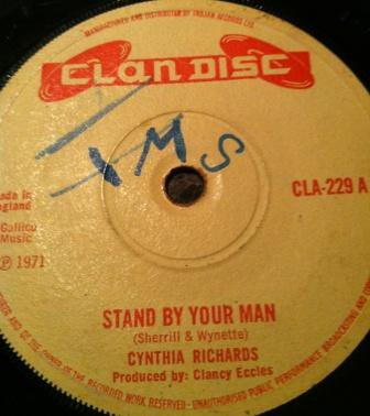 Cynthia Richards - Stand By Your Man