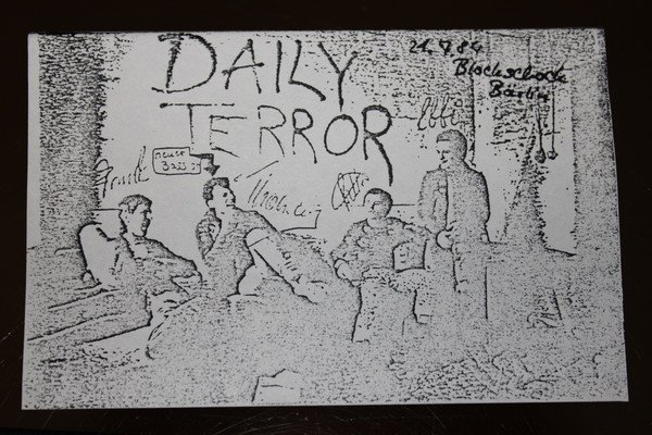 Daily Terror - 21.7.84 Blockschock Bärlin