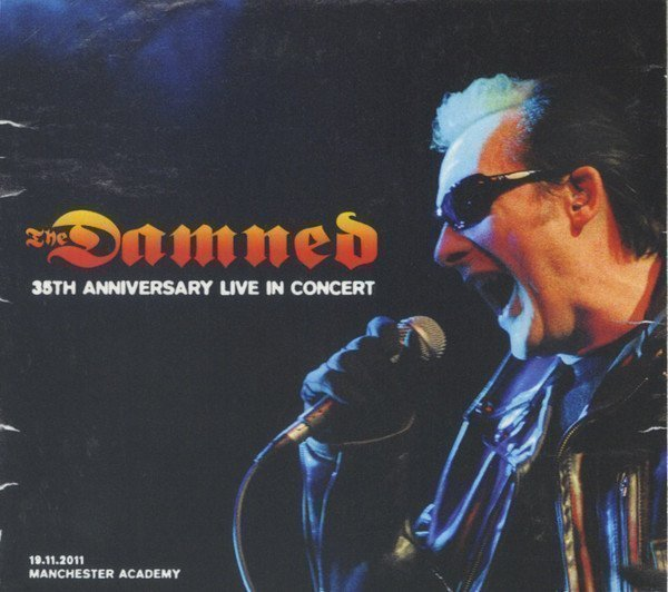 Damned - 35th Anniversary Live In Concert (19.11.2011 - Manchester Academy)
