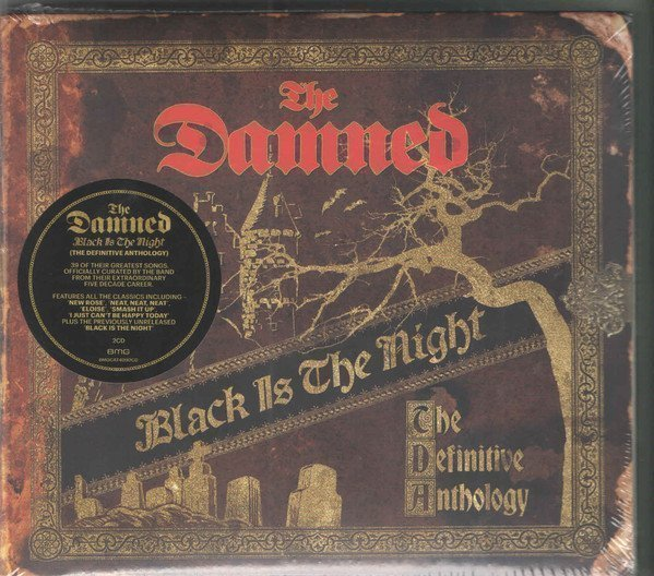 Damned - Black Is The Night (The Definitive Anthology)