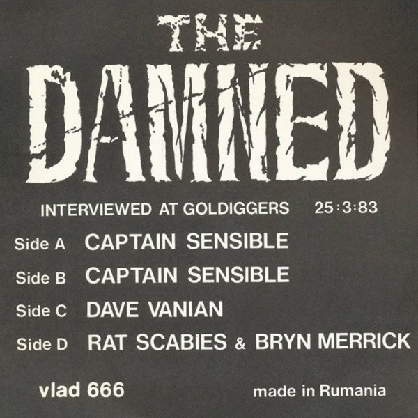 Damned - Interviewed At Goldiggers 25:3:83