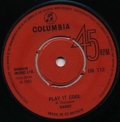 Dandy - Rude With Me / Play It Cool