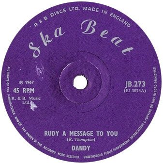 Dandy - Rudy A Message To You / Till Death Do Us Part