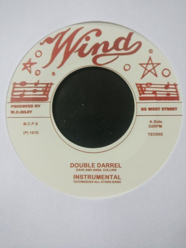 Dave And Ansil Collins - Double Barrel / Instrumental / Nuclear Weapon