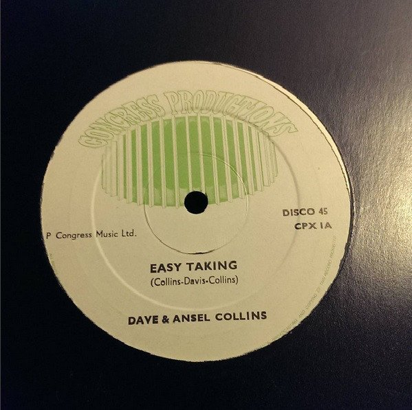 Dave And Ansil Collins - Easy Taking