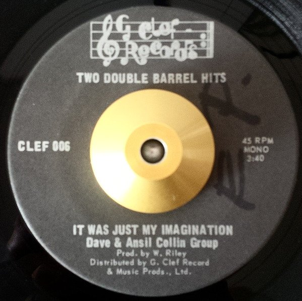 Dave And Ansil Collins - It Was Just My Imagination / Loneliness