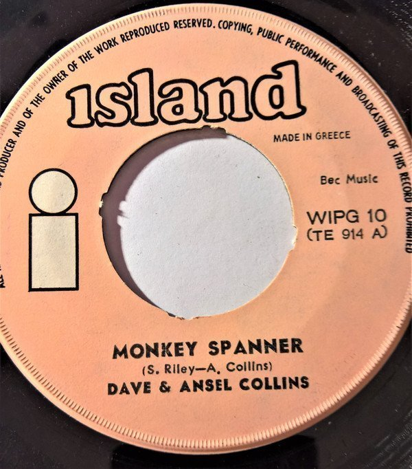Dave And Ansil Collins - Monkey Spanner / Karaté