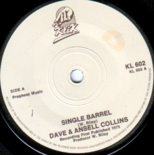 Dave And Ansil Collins - Single Barrel