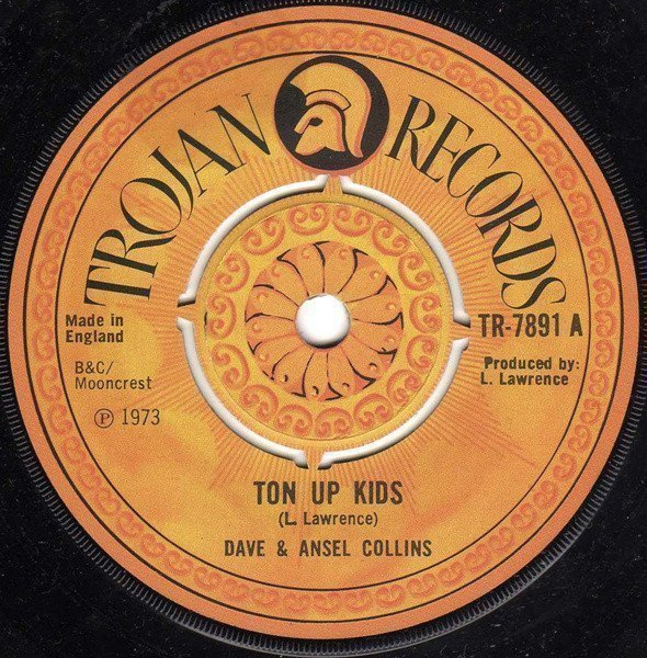 Dave And Ansil Collins - Ton Up Kids