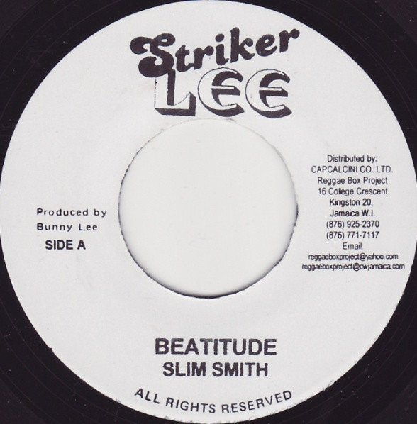 Dave Barker Meet The Upsetters - Beatitude / Blessed Are The Meek