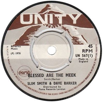 Dave Barker Meet The Upsetters - Blessed Are The Meek / People