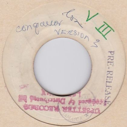 Dave Barker Meet The Upsetters - Conqueror Version 3 / My Mother Law