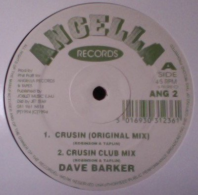 Dave Barker Meet The Upsetters - Crusin / All Thow Your Blind