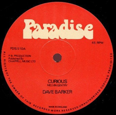 Dave Barker Meet The Upsetters - Curious