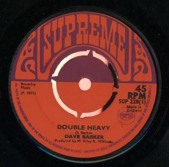 Dave Barker Meet The Upsetters - Double Heavy