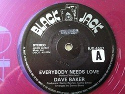 Dave Barker Meet The Upsetters - Everybody Needs Love / Glow Of Love