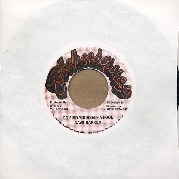 Dave Barker Meet The Upsetters - Go Find Yourself A Fool