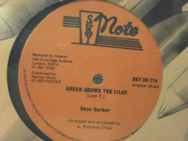 Dave Barker Meet The Upsetters - Green Grows The Lilac