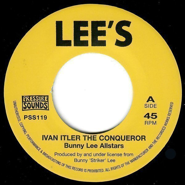 Dave Barker Meet The Upsetters - Ivan Itler The Conqueror / Smooths And Sorts